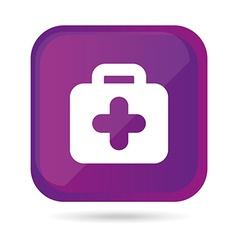 kit medical design vector image