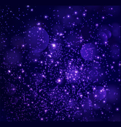 festive blue background vector image
