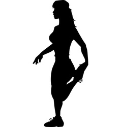 Stretching vector image