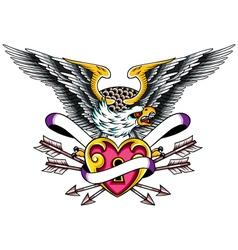 eagle design vector image vector image