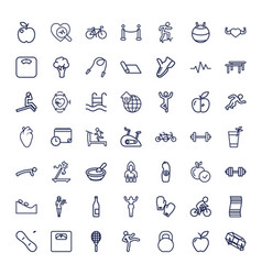 49 lifestyle icons vector