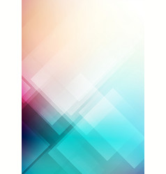 abstract geometric shape colorful background vector image