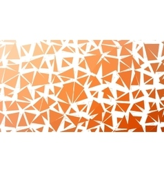Abstract red orange gradient lowploly of vector image