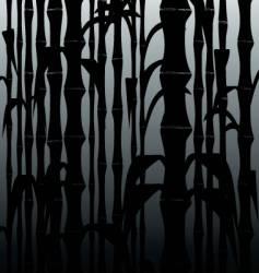 Bamboo black vector
