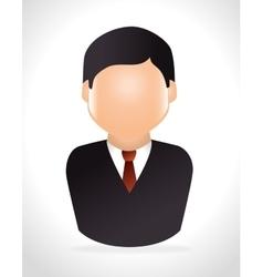 Businessmen proffesional job vector