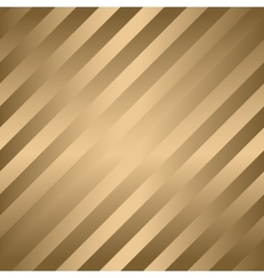 Classic diagonal lines pattern on gold vector