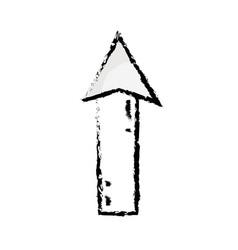 Figure web arrow up load icon vector