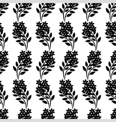 flower bouquet pattern vector image vector image