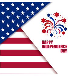 independence day celebration vector image