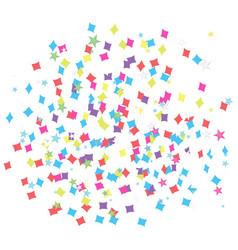 isolated confetti vector image