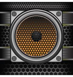 Musical speaker vector