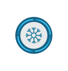 power cooler icon vector image