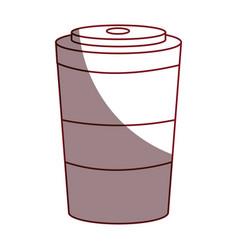 Soda drink isolated icon vector