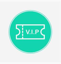 ticket icon sign symbol vector image