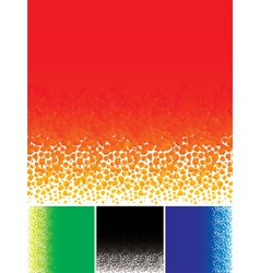 abstraction particle vector image vector image