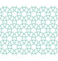arabic lattice geometric seamless pattern vector image