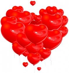 loving heart vector image vector image