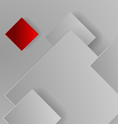 background of gray squares vector image
