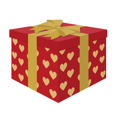 opened gift box surprise conceptgift to the vector image vector image
