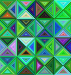 Abstract regular triangle mosaic background design vector