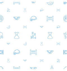 Art icons pattern seamless white background vector