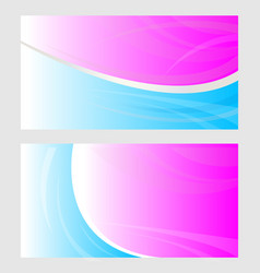 business card background banner vector image
