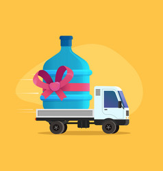 Free water delivery discount vector
