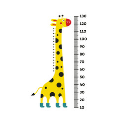 Giraffe cartoon character with long neck in boots vector