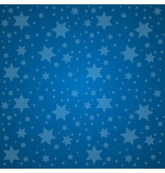 Starry Sky Good Night Concept vector image