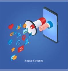 digital marketing concept 02 vector image