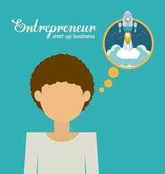Entrepreneur design vector