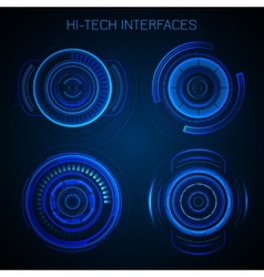 Futuristic Hud Interface vector