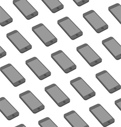 Seamless Pattern with Repeating Smart Phone vector