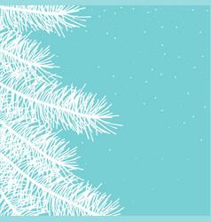 seasons greetings card vector image
