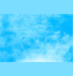 watercolor blue sky abstract water paint stains vector image