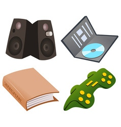 Gaming Icon Set vector image vector image