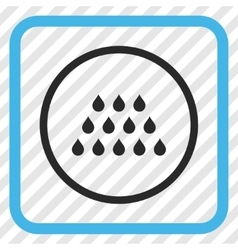 Drops Icon In a Frame vector