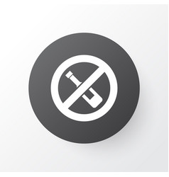 forbidden icon symbol premium quality isolated no vector image