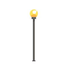 Street lamppost vector