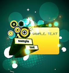 stylish design vector image