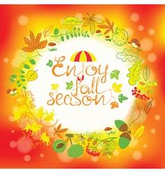 season card vector image