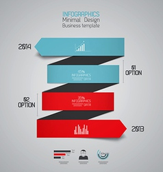 infographics 5 vector image vector image