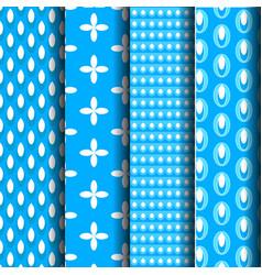 pattern blue vector image