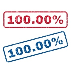 10000 Percent Rubber Stamps vector