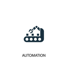 automation icon simple element vector image