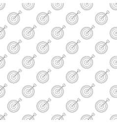 Darts pattern seamless vector image