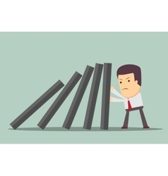 Domino effect and problem solving vector
