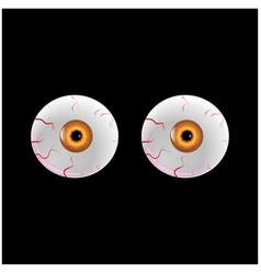 eyes pupil icon symbol design vector image