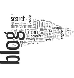 How to get thousands of visitors to your blog vector
