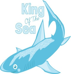 King Of Sea vector